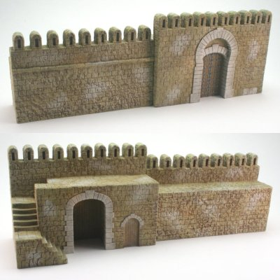 City Wall and Gate combination